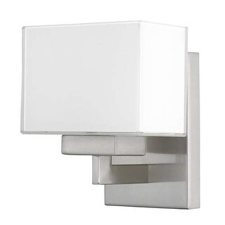 """Donny Osmond Home 8341-155 1 Light 7.25"""" Tall Bathroom Sconce from the Tahoe Collection"""