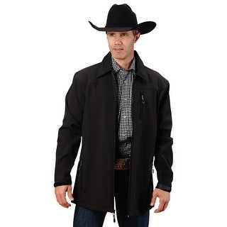 Roper Coat Mens Soft Shell Zipper Long Sleeve 03-097-0780-7720 BL