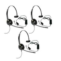 Plantronics Encore Pro HW510 with A10 3-pack Monaural Noise-Cancelling Headset