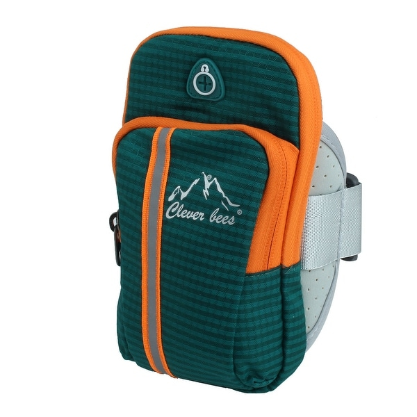 3775ecaeda Unique Bargains Camping Nylon Hiking Backpack Arm Bag Holder Dark Green