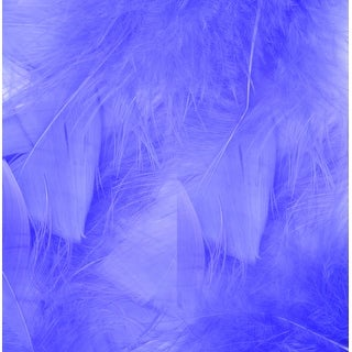 Flat Turkey Feathers 14G-African Violet