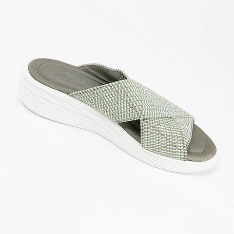 Women's Braided Casual Flat Sandals