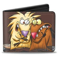 Angry Beavers Norbert & Daggett Close Up Pose Bi Fold Wallet - One Size Fits most