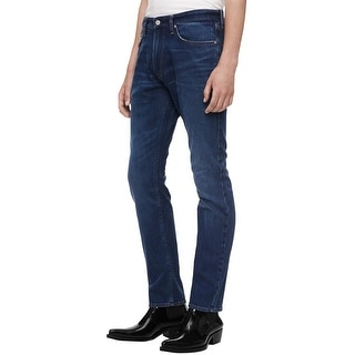 Link to Calvin Klein Mens Athletic Tapered Relaxed Jeans, blue, 31W x 30L - 31W x 30L Similar Items in Pants