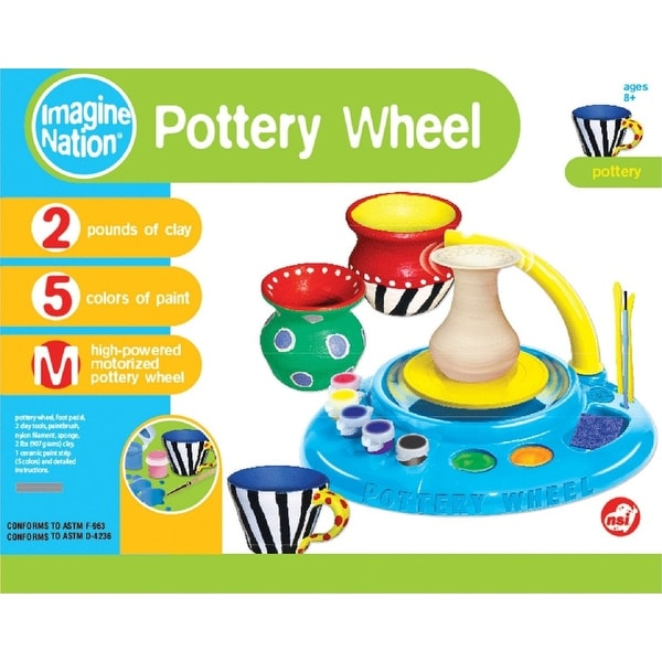 Pottery Wheel & Clay Kit