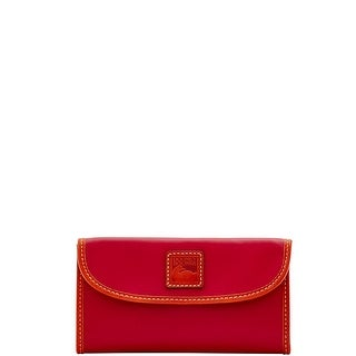 Dooney & Bourke Wexford Leather Continental Clutch Wallet (Introduced by Dooney & Bourke at $128 in Sep 2017)