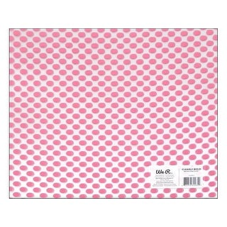 We R Memory Acetate 12x12 Clearly Bold Dot Ne Pink