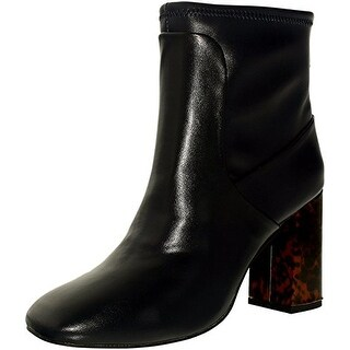 Charles David Womens Trudy Square Toe Ankle Fashion Boots