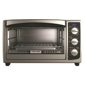 Black & Decker TO1675B Conventional Toaster Oven, 6 Slice