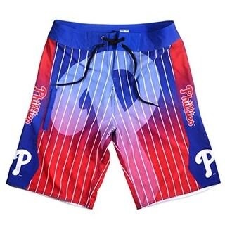 Klew Mens Philadelphia Phillies MLB Gradient Board Shorts - S