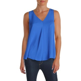 Vince Camuto Womens Petites Tank Top Chiffon Hi-Low (2 options available)