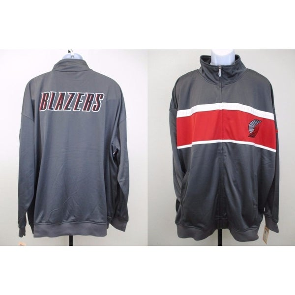 half off a3f5a 3b098 Portland Trail Blazers Mens Sizes 3Xl-4Xl Majestic Track Jacket $65