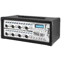 PYLE PRO PMX802M 8-Channel, 800-Watt Powered Mixer with MP3 Input