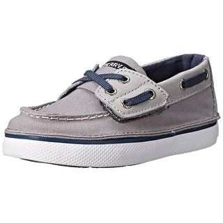 Sperry Top-Sider Cruz Jr Canvas Boat Shoe - 10.5 m us little kid