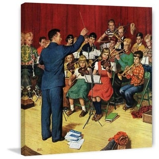 Marmont Hill School Orchestra Amos Sewell Painting Print on Canvas