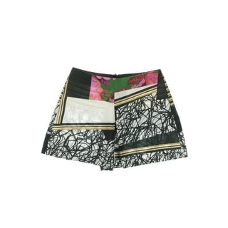 Clover Canyon Womens Printed Unlined Casual Shorts - XS