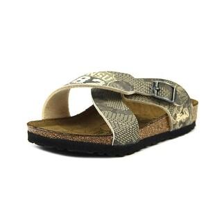 Birki's Guam N Open Toe Synthetic Slides Sandal