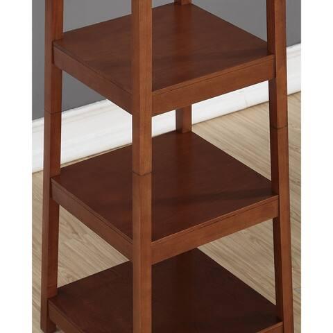 """Vassen 3-Tier Storage Shelf Standing Coat Rack - 72""""h x 17""""l x 17""""l"""