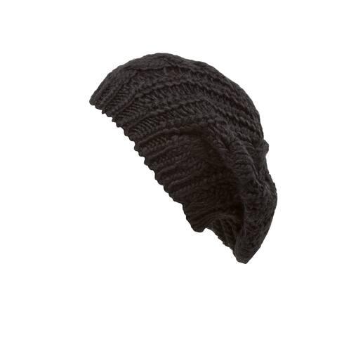 Knit Weave Fashion Beret