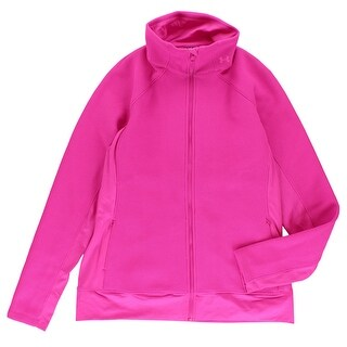 Under Armour Womens Cold Gear Infrared Full Zip Jacket Pink