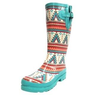 Blazin Roxx Outdoor Boots Womens Dakota Turquoise Orange 58110