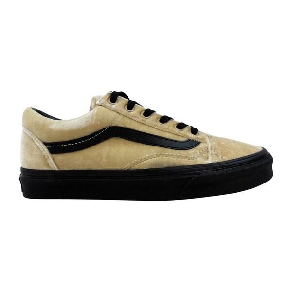 Shop Vans Old Skool TanBlack Velvet VN0A38G1NQA Men's