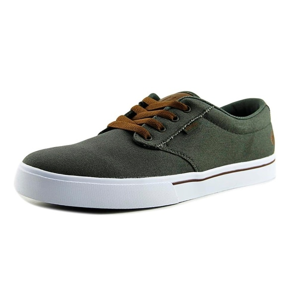Etnies Jameson2 Eco Men Round Toe Canvas Green Skate Shoe