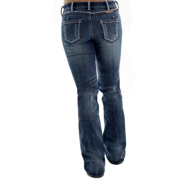 Cowgirl Tuff Western Denim Jeans Womens Copper Beauty Med