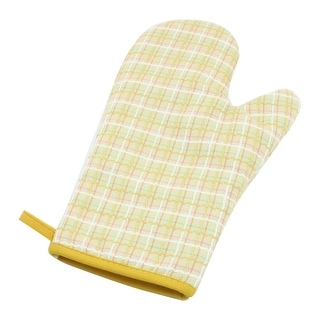 """Kitchen Microware Oven Baking Hands Protector Heat Resistance Gloves - 9.5"""" x 5.9"""" x 0.8 (L*W*H)"""