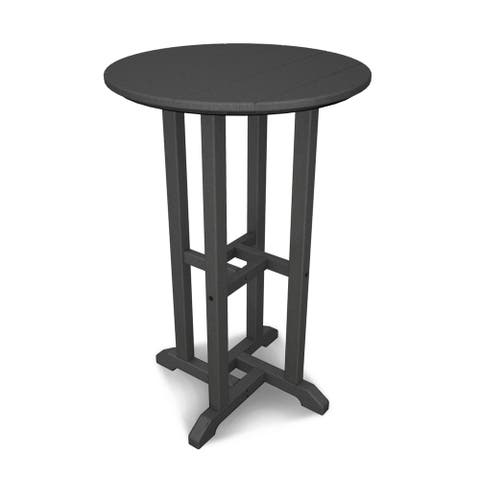 """POLYWOOD Traditional 24"""" Round Counter Table"""