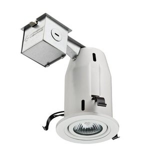 Lithonia Lighting LK3GMW Recessed Gimbal Kit, Matte White, 3""