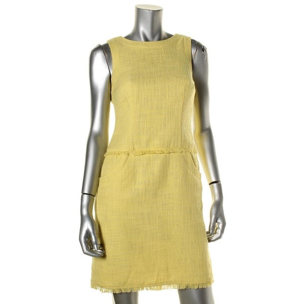 Calvin Klein Womens Casual Dress Sleeveless Pocketed