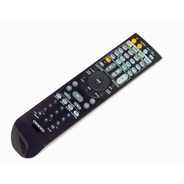OEM Onkyo Remote Control Originally Shipped With: HTRC180, HT-RC180, TXNR1007, TX-NR1007, TXNR807, TX-NR807