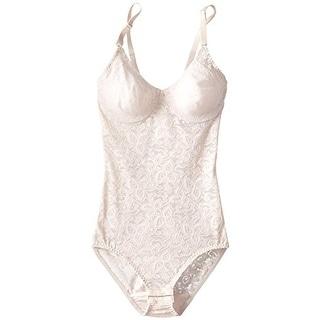 Bali Womens Lace Underwire Body Shaper - 34dd