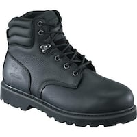 Knapp Men's K5025 Black Tumbled Full Grain Leather