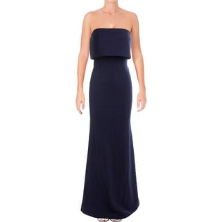 Jarlo Womens Evening Dress Strapless Full-Length