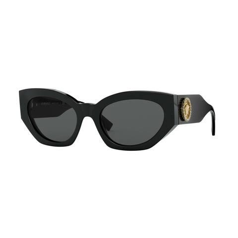 Versase VE4376B GB1/87 54 Black Woman Irregular Sunglasses