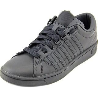 K-Swiss Hoke CMF Men Round Toe Leather Black Sneakers
