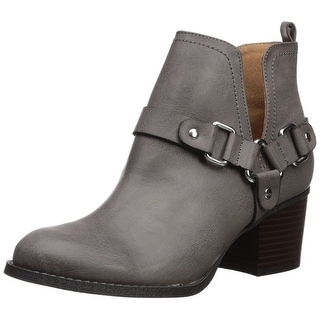 Link to Madden Girl Womens FINIANBLACK MULTI Almond Toe Ankle Fashion Boots Similar Items in Women's Shoes