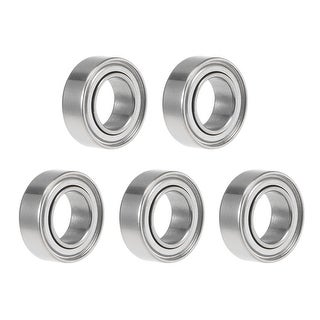 MR95ZZ Deep Groove Ball Bearing 5x9x3mm Double Shield Chrome Bearings 5pcs - 5 Pack - MR95ZZ (5*9*3)