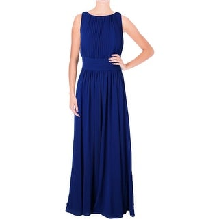 Lauren Ralph Lauren Womens Formal Dress Georgette Pleated