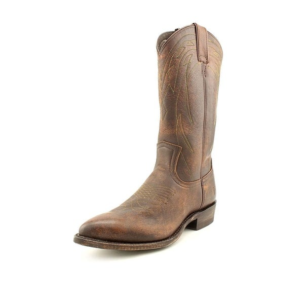 e16ec15e84d Shop Frye Billy Pull On Women Pointed Toe Leather Brown Western Boot ...