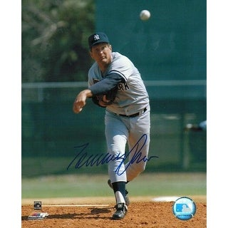 Autographed Tommy John New York Yankees 8x10 Photo