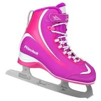 Riedell Girls 615 Spiral Jr Figure Ice Skates, Kids, Purple/Pink, 9J - 9 Youth