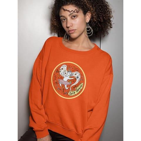 Dancing Unicorn Sweatshirt Women's -Image by Shutterstock