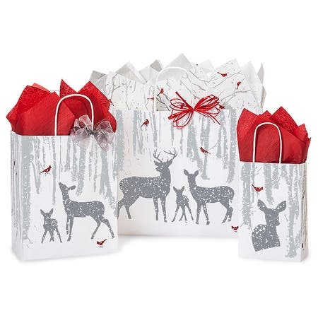 Pack of 125, Woodland Frost 125 Bag Assortment 50 Rose, 50 Cub, 25 Vogue 100% Recyclable, Made In Usa