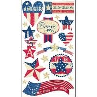 Sticko Stars and Stripes Stickers