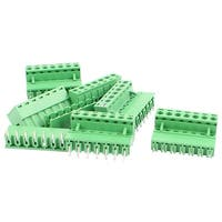 6 Pairs 5.08mm Pitch 7 Pin Male to Female PCB Pluggable Terminal Block Connector