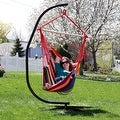 Sunnydaze Jumbo Hanging Chair Hammock Swing - Thumbnail 12
