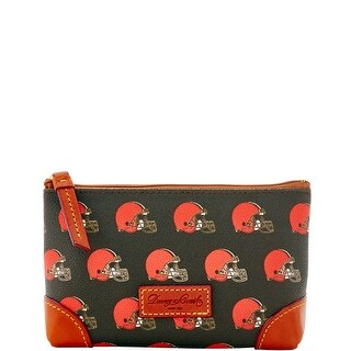 Dooney & Bourke NFL Cleveland Browns Cosmetic Case (Introduced by Dooney & Bourke at $48 in Aug 2016)